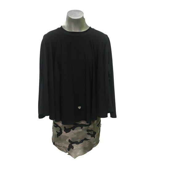 Bella Bimba colección Luarca conjunto falda pico y suéter poncho