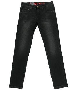 Petrol pantalón vaquero negro slim fit