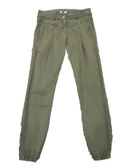 ELSY pantalón verde pinzas