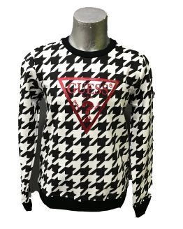 GUESS sudadera pata de gallo