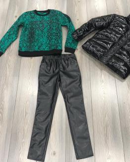 Idea conjunto pantalón y sudadera Guess y cazadora IDO