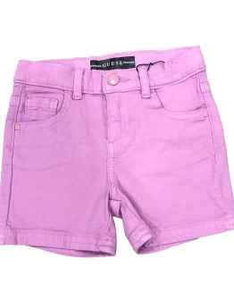 Guess short niña denim malva