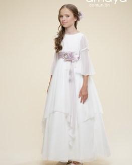 Amaya vestido de comunión capas