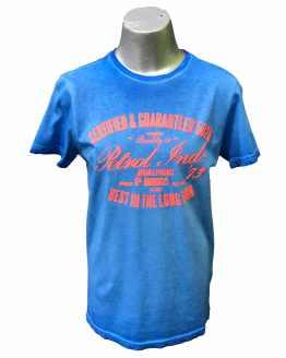 Petrol Camiseta chico azul eléctrico Best