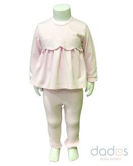Tutto Piccolo conjunto bebé niña algodón rosa