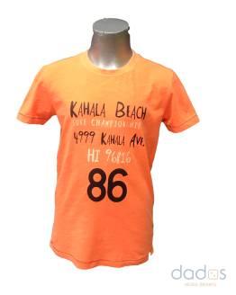 Cars Jeans camiseta chico 86 naranja fluor