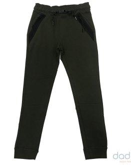 Cars Jeans jogging chico verde army bolsillos termosellados