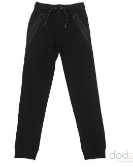 Cars Jeans Jogging chico negro bolsillos termosellados