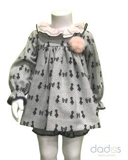 Marta y Paula colección Bonnie vestido bebé con pololo