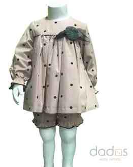 Marta y Paula colección Madonna vestido bebé con pololo