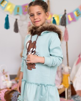 Mon Petit Bonbon Vestido en felpa ratón capucha pelo catálogo