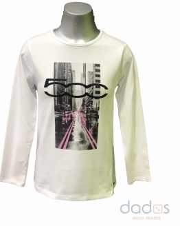 Sarabanda camiseta chica logo 500