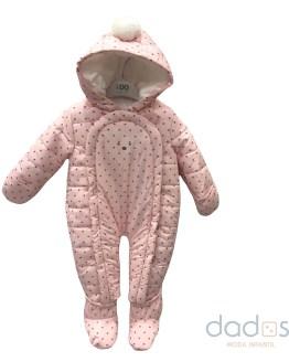 Ido Buzo Bebé térmico rosa estrellas grises