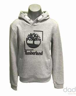 Timberland sudadera chico gris logo