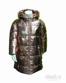 IDO chaquetón niña térmico color bronce