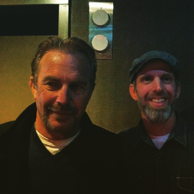 Kevin Costner and Whit Honea
