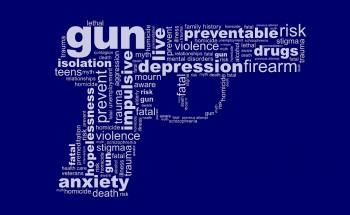 Suicide by gun