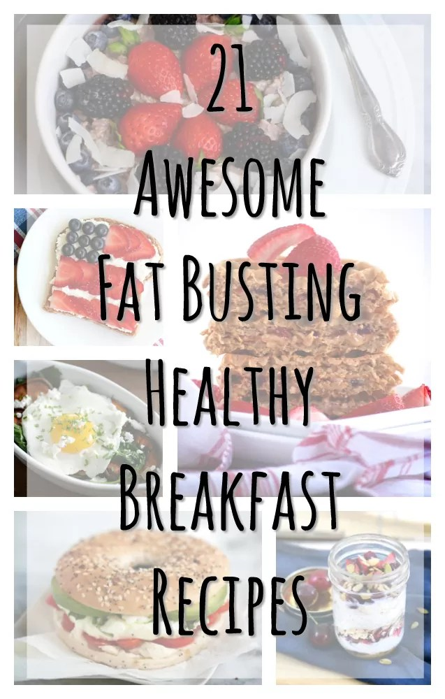 23 awesome healthy breakfast ideas for