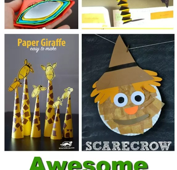 10 Awesome Paper Crafts For Kids To Keep Them Entertained