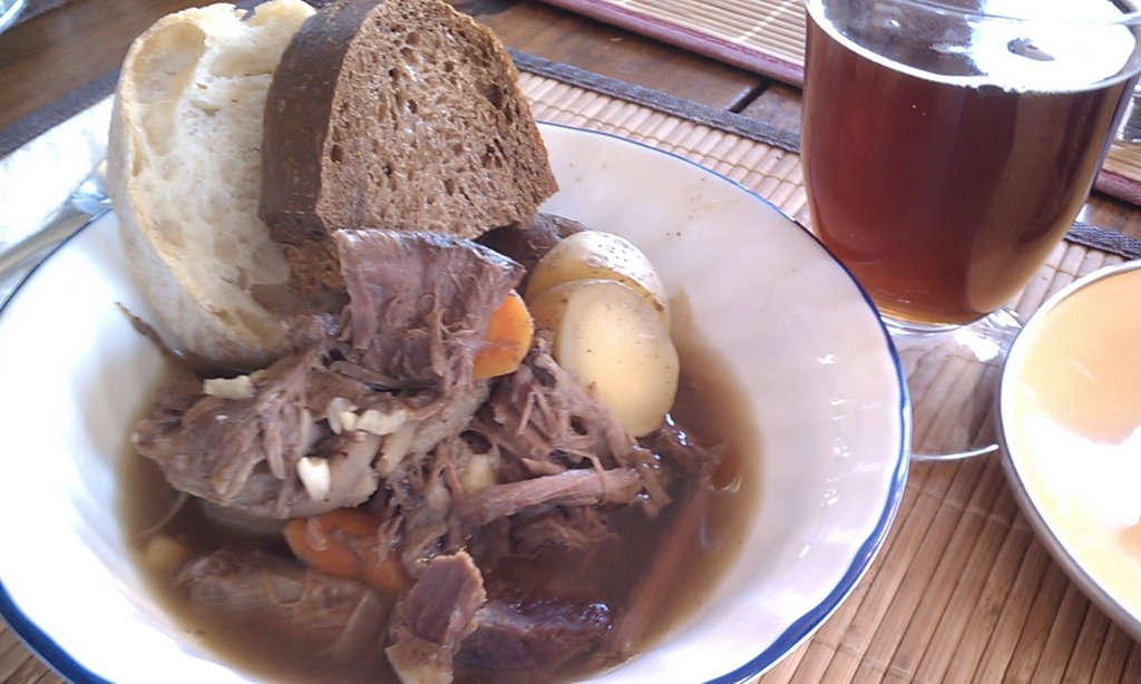 Beer Braised Venison Stew