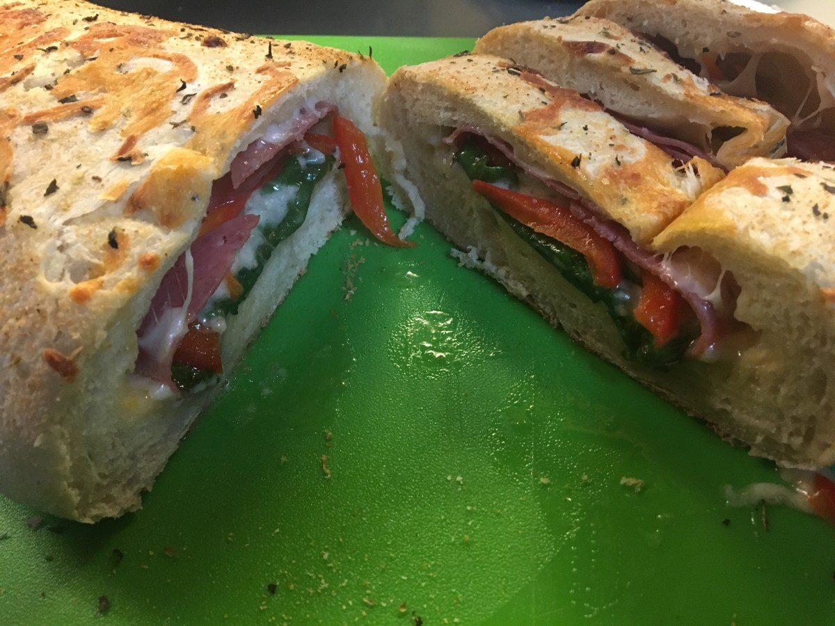 Three Cheese, Spinach, and Salami Stromboli - Episode 9 - Dads Can Cook Too - Cooking Live