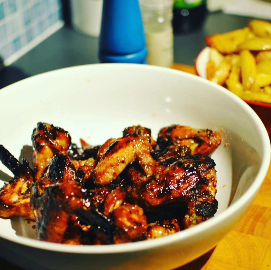 soy and ginger chicken wings