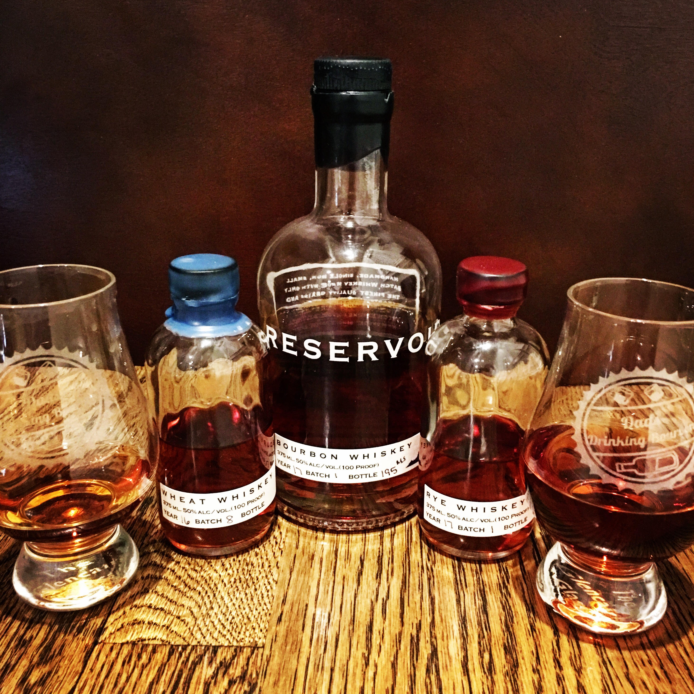 Reservoir Bourbon, Wheat, and Rye