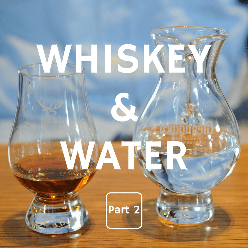 Whiskey and Water, Part 2: Liquid H₂O