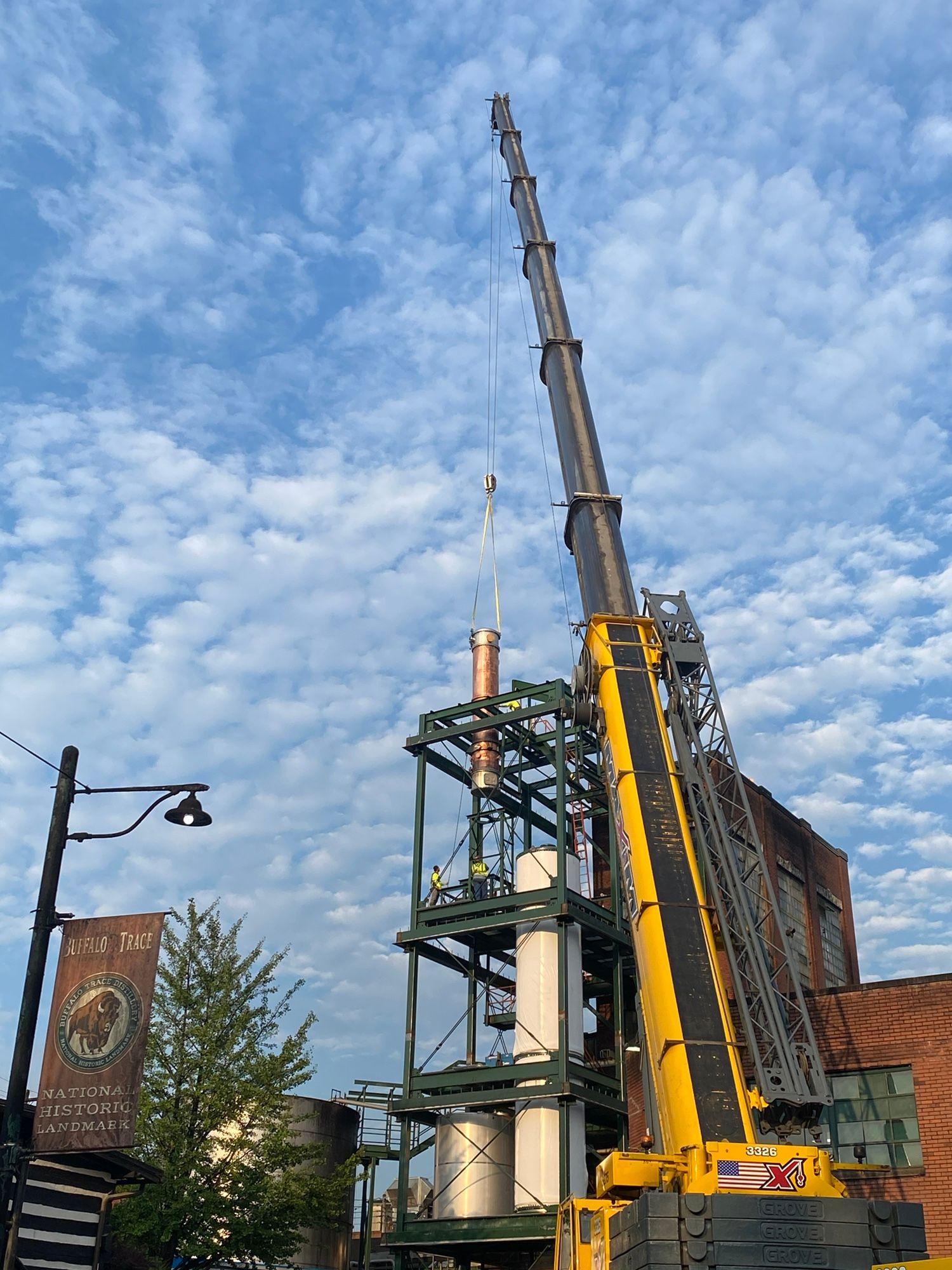 Buffalo Trace Distillery Makes Headway on $1.2 Billion Expansion