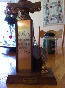 One of Dad's trophies