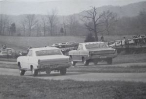 """Our local drag strip, Louisville, KY """"1959"""""""