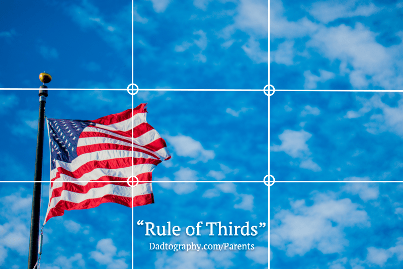 Dadtography 101 - Rule of Thirds