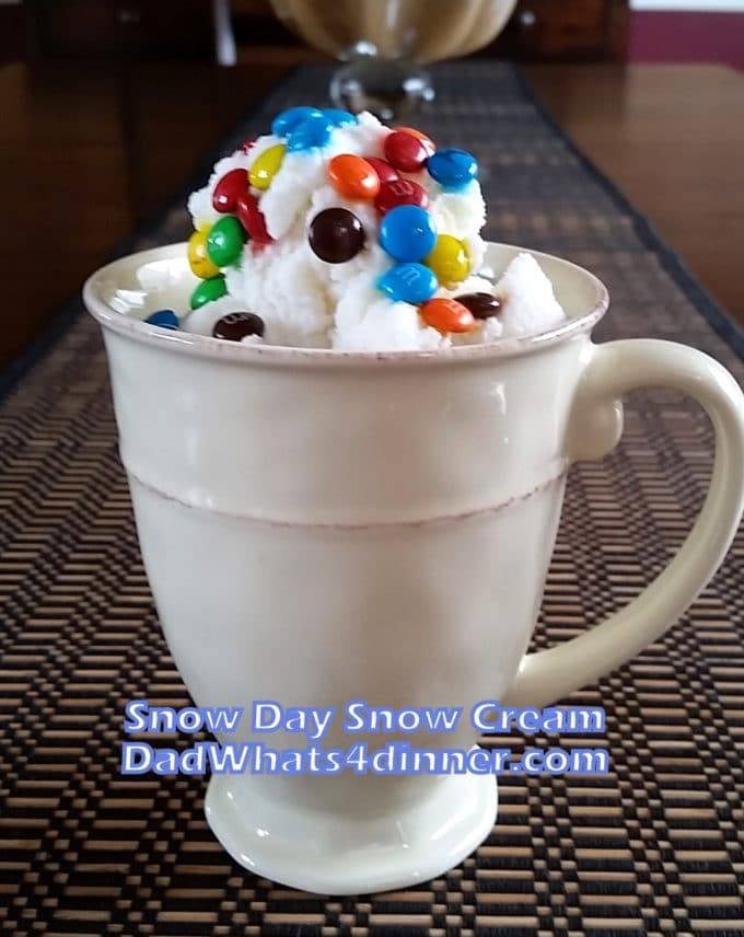 Snow Day Snow Cream