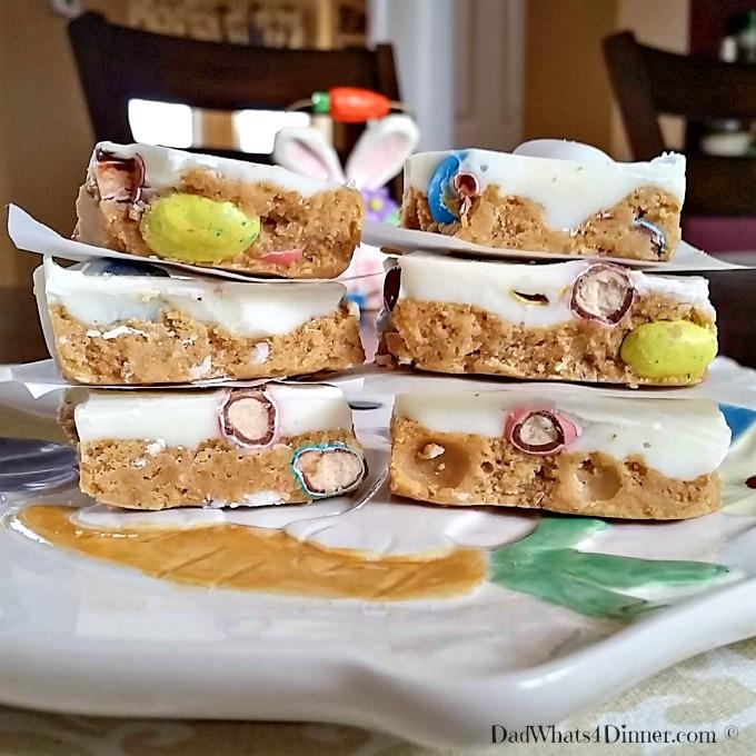Peanut Butter Easter Bars