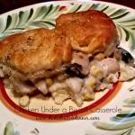 Chicken Biscuit Casserole | www.dadwhts4dinner.com