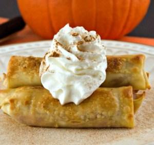 Pumpkin Oreo Cheesecake Egg Rolls Dad Whats 4 Dinner