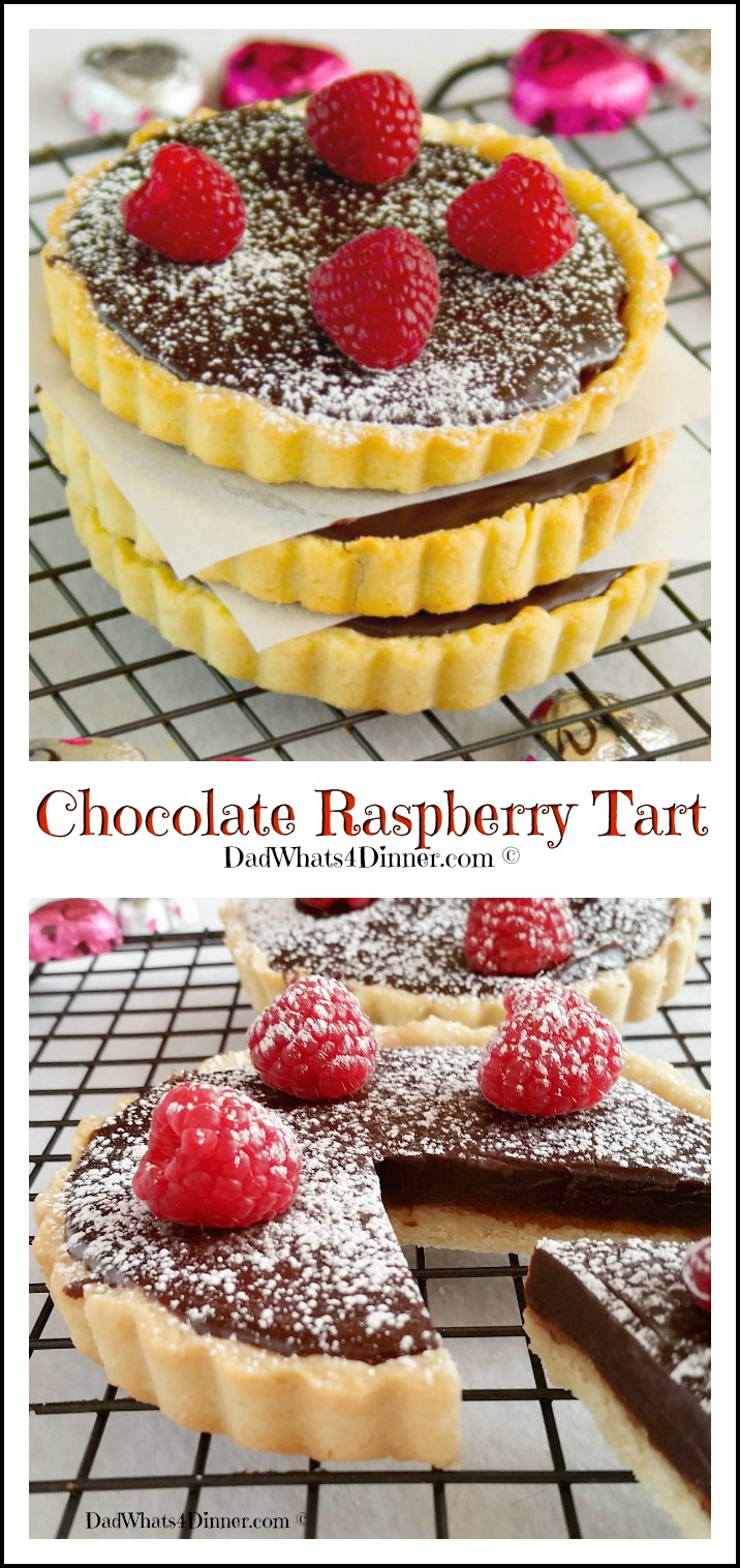 If you want to impress your significant other, make this Chocolate Raspberry Tart. The ultimate Valentine's Day dessert!
