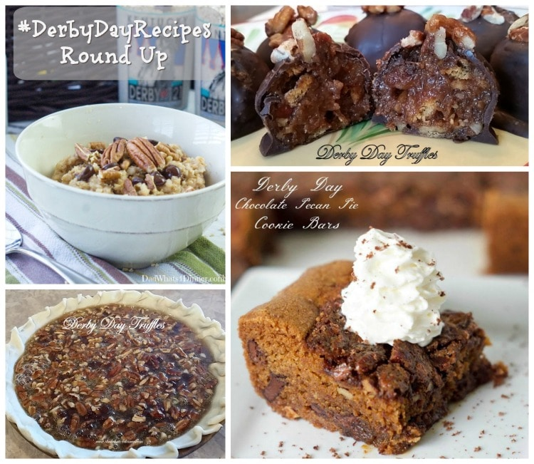 It's Derby Day!! My blogger colleagues and I share some derby inspired foods with this #DerbyDayRecipes Round Up. Is your hat ready? www.dadwhats4dinner.com