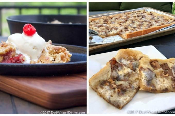 Two Unexpected Desserts Made on the Grill