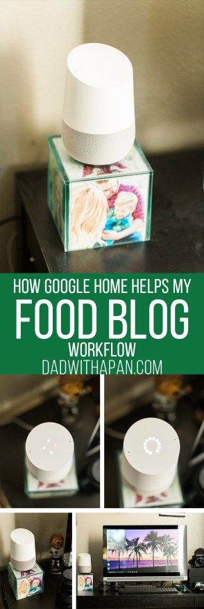 How I use Google Home to help set reminders, help me keep organized, and answer any of life's difficult cooking questions...