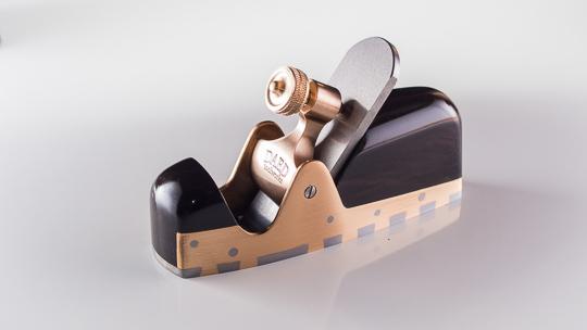 CS1 coffin smoother; gabon ebony infill.