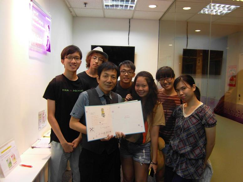 Teacher Harry Quek and his students Learn Easy Korean Language at Daehan Korean Language Centre
