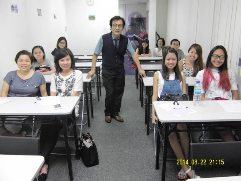 Learn easy Korean language with Teacher Harry Quek