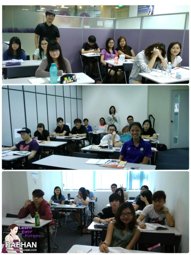 from Daehan Teachers and Students of Korean Language Course