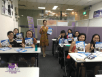 Teacher Ms Ku Hara and her students of Korean Language Advanced Course
