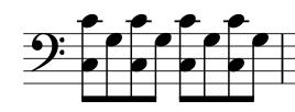 patrón mano izquierda