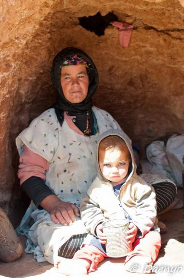 Nomadic Family, Atlas Mountains