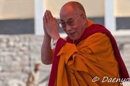 His Holiness the 14th Dalai Lama, Leh