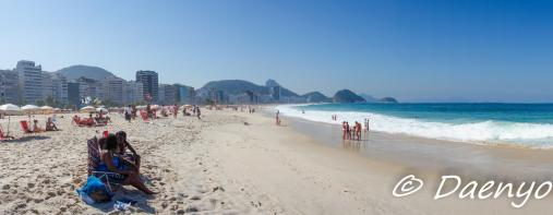 CopacabanBeach Rio, Brasil