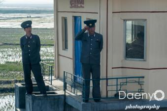 somewhere on the way from Sinuiju to Pyongyang